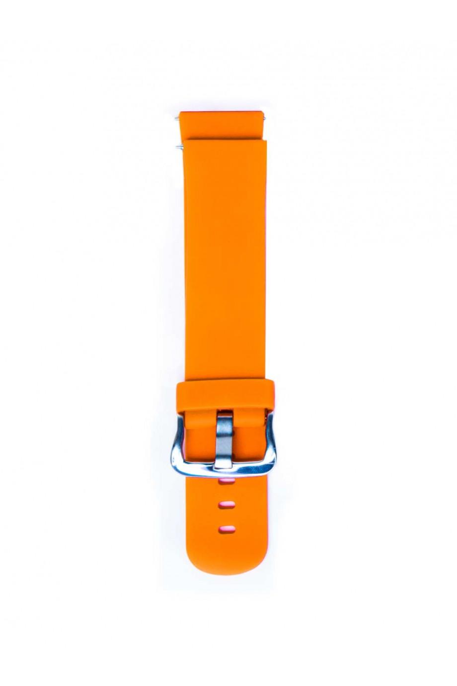 Силиконовый ремешок для Amazfit Stratos 2s, 22 мм, оранжевый, mc-04