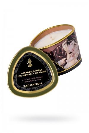 Массажное аромамасло Shunga Excitation с ароматом шоколада, 170 мл