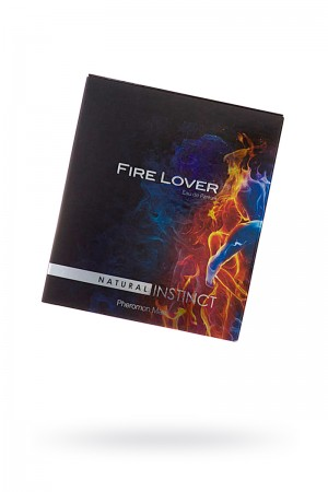 Парфюмерная вода Natural Instinct Fire Lover, для мужчин, 100 мл