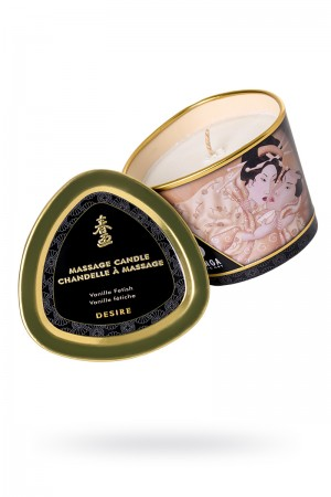 Массажное аромамасло Shunga Desire с ароматом ванили, 170 мл