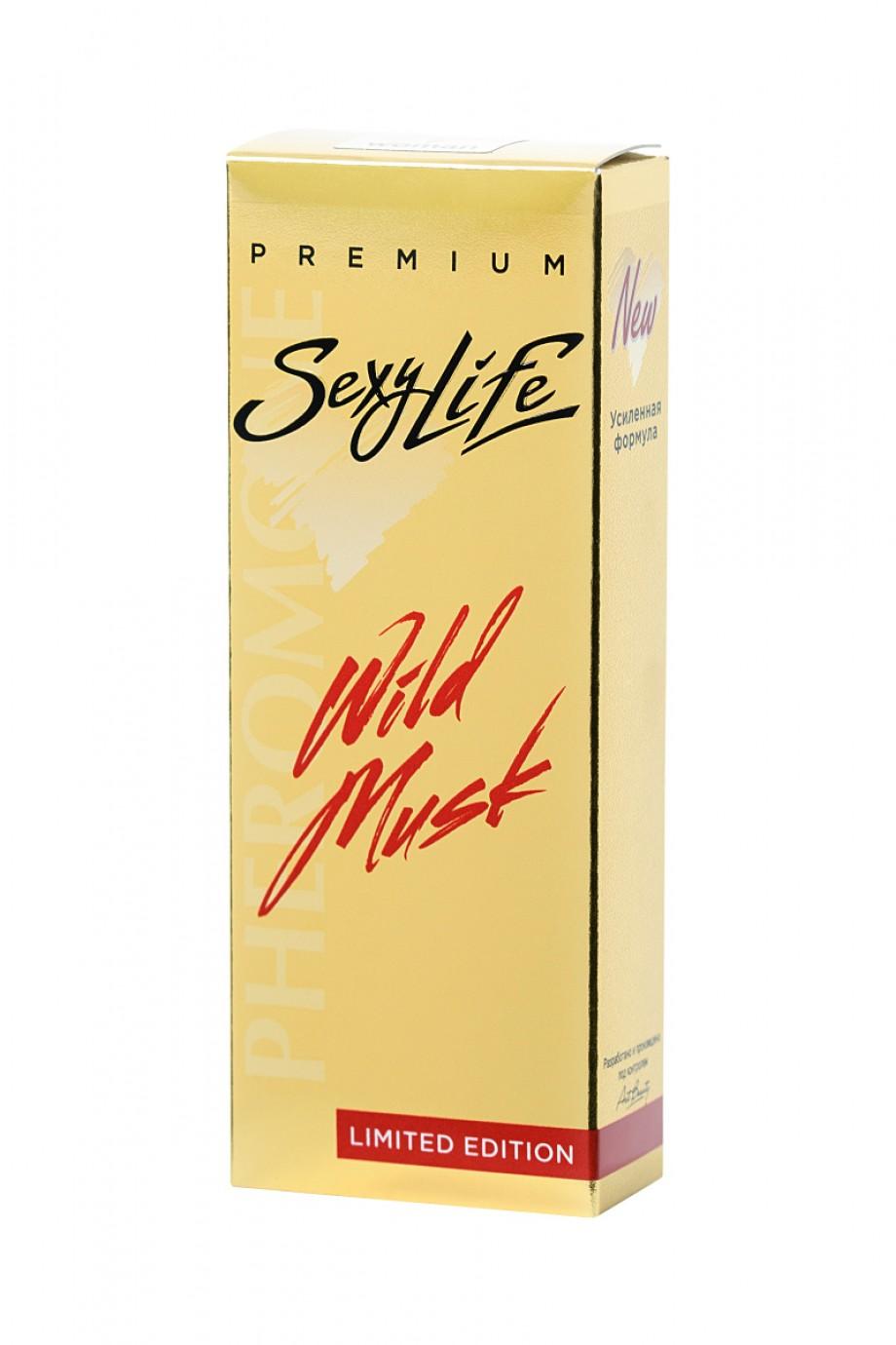 Духи с феромонами Wild Musk №3 философия аромата Sublime Balkiss, женские, 10 мл