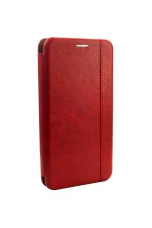 Чехол-книжка для Samsung Galaxy A30S, красный