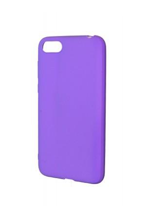 Чехол силиконовый для Honor 7A, фиолетовый