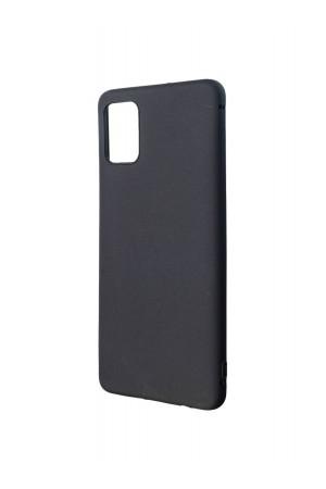 Чехол силиконовый для Samsung Galaxy A51, черный