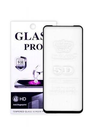 Защитное стекло 5D Glass Pro для Samsung Galaxy M11, черная рамка, полный клей, mk015