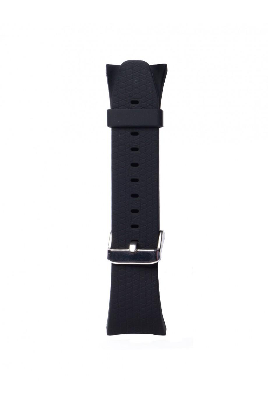 Силиконовый ремешок для Samsung Gear Fit 2, черный, FT-0012