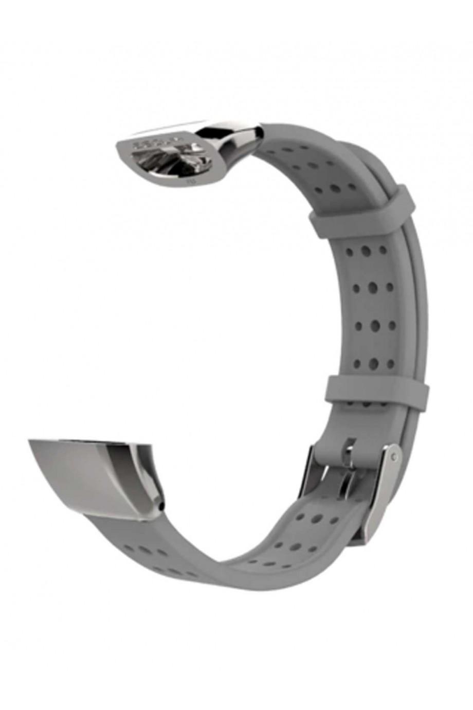 Силиконовый ремешок Mijobs для Honor Band 3, серый