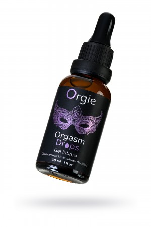Интимный гель для клитора ORGIE Orgasm Drops, с разогревающим эффектом, 30 мл