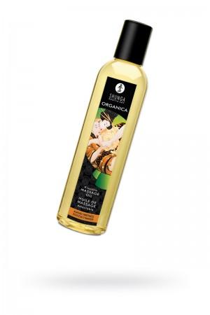 Масло для массажа Shunga Organica Almond Sweetness, натуральное, возбуждающее, с ароматом миндаля, 250 мл