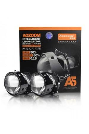 Светодиодная линза Aozoom A5, 3.0 дюйма, 5000К, 2шт
