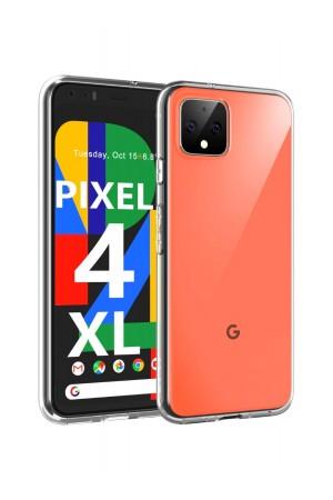 Чехол силиконовый для Google Pixel 4 XL, прозрачный