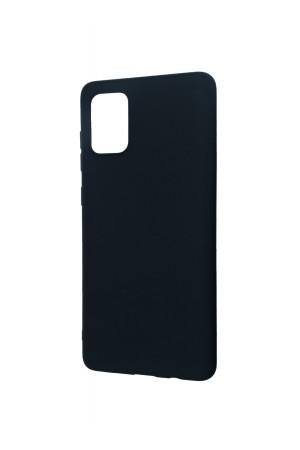 Чехол силиконовый для Samsung Galaxy A71, черный