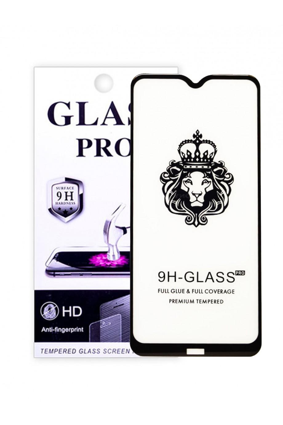 Защитное стекло 5D Glass Pro для Xiaomi Redmi 8, черная рамка, полный клей