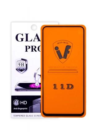 Защитное стекло 11D Glass Pro для Honor 20, черная рамка, полный клей