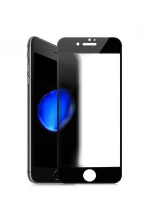 Защитное стекло Ainy для iPhone 8, матовое, черная рамка, полный клей