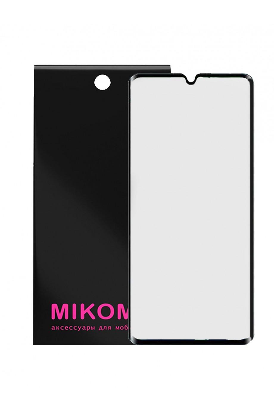 Защитное стекло 3D Mikomo для Xiaomi Mi CC9 Pro, черная рамка, полный клей