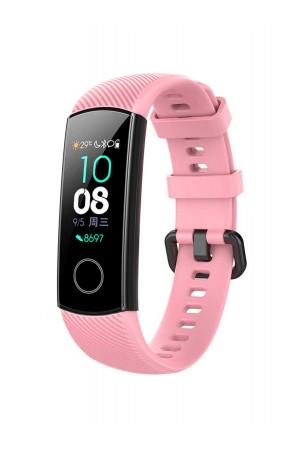 Силиконовый ремешок для Honor Band 5, розовый