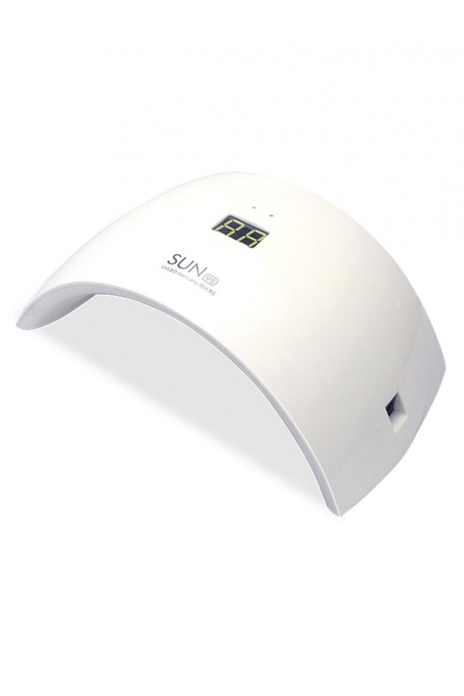 Лампа для сушки лака Sun 9S, LED, 24 Вт, белый