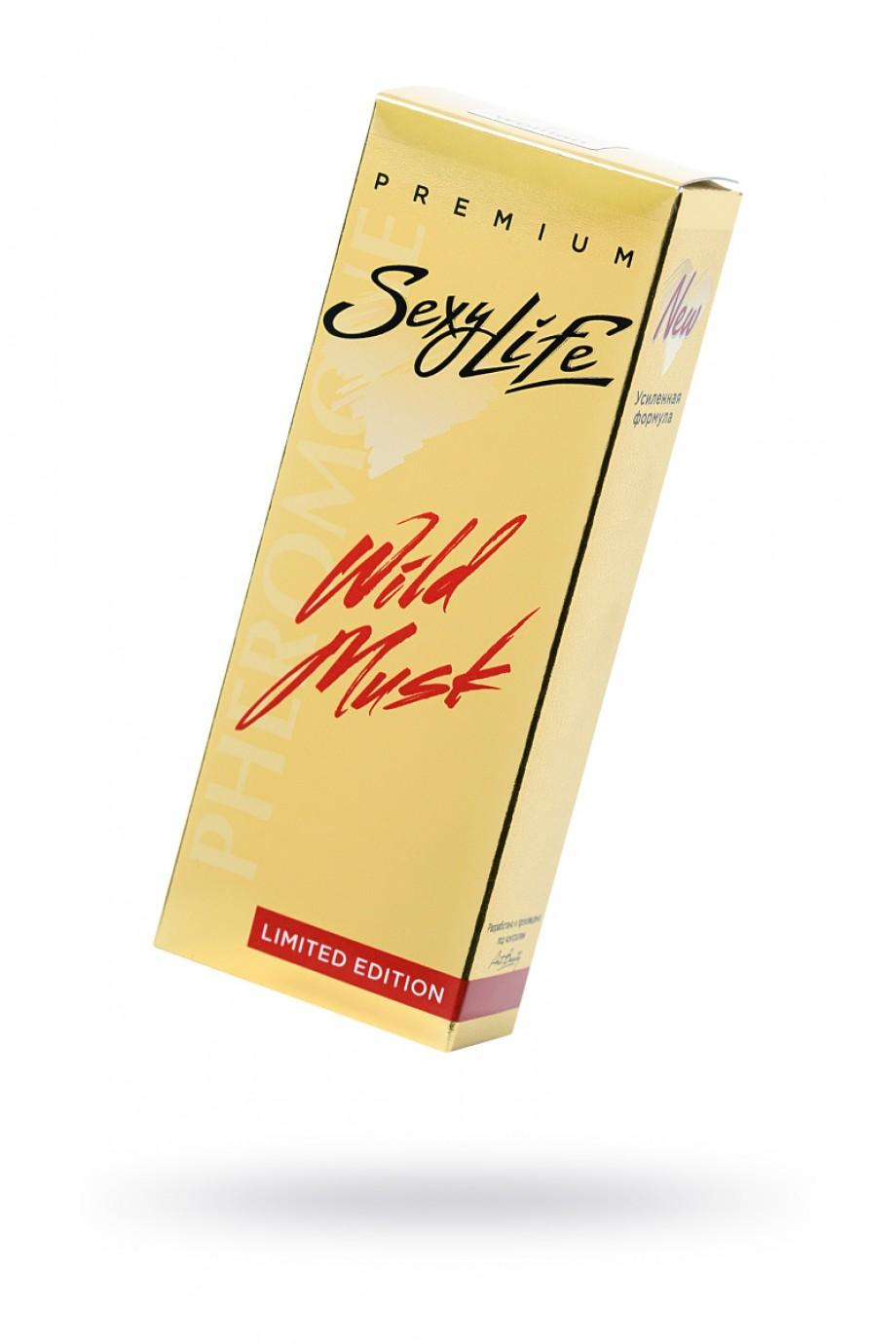 Духи с феромонами Wild Musk №15 философия аромата Tom Ford - Black Orchid, женские, 10 мл