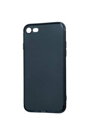 Чехол силиконовый Brauffen для iPhone 8, черный