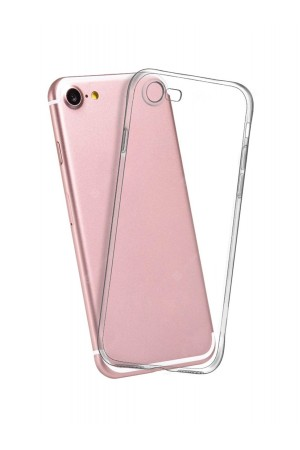 Чехол силиконовый для iPhone 7, прозрачный