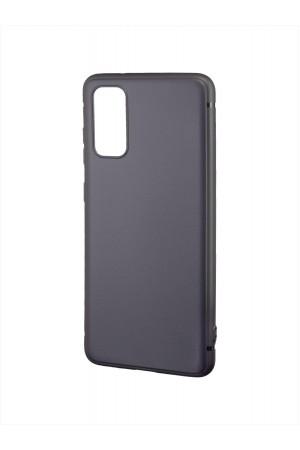 Чехол силиконовый Brauffen для Samsung Galaxy S20, черный