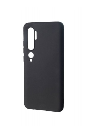 Чехол силиконовый для Xiaomi Mi Note 10 Pro, черный