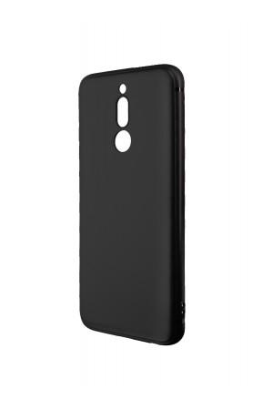 Чехол силиконовый Brauffen для Xiaomi Redmi 8, черный