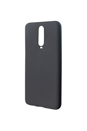 Чехол силиконовый для Xiaomi Redmi K30, черный