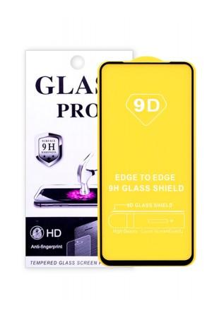 Защитное стекло 9D Glass Pro для Honor 20S черная рамка, полный клей, mk045