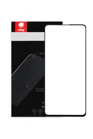 Защитное стекло Ainy для Samsung Galaxy A51, черная рамка, полный клей