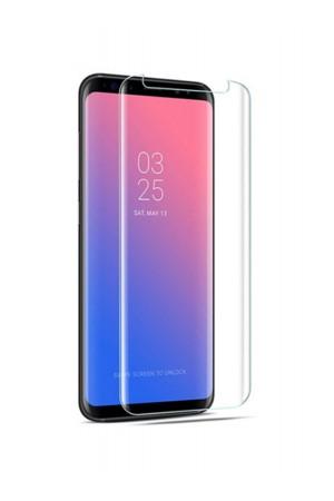 Защитное стекло 3D для Samsung Galaxy S8 Plus, UV с УФ лампой, полный клей, mk017