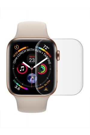Защитное стекло 3D для Apple Watch 1/2/3 42 мм, прозрачное, полный клей