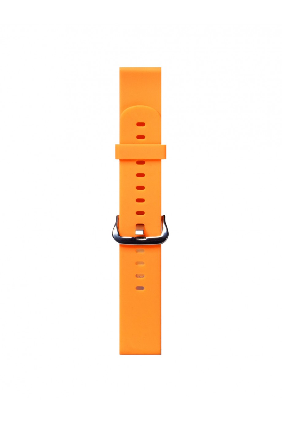Силиконовый ремешок для Amazfit Bip, 20 мм, застежка пряжка, оранжевый неон, mkx063