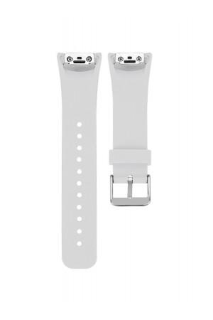 Силиконовый ремешок для Samsung Gear Fit 2, белый, FT-0014