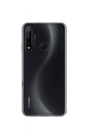 Чехол силиконовый для Huawei P20 Lite 2019, прозрачный