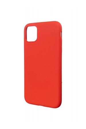 Чехол силиконовый Brauffen для iPhone 11, мягкая подложка, красный
