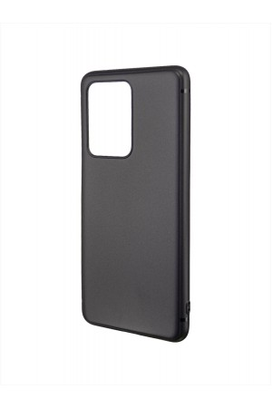 Чехол силиконовый Brauffen для Samsung Galaxy S20 Ultra, черный