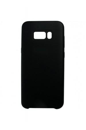 Чехол TPU для Samsung Galaxy S8 Plus, мягкая подложка, черный