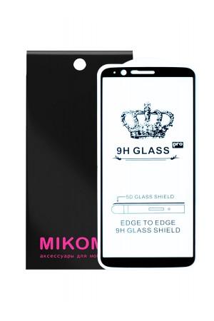 Защитное стекло 5D Mikomo для OnePlus 5T, черная рамка, полный клей