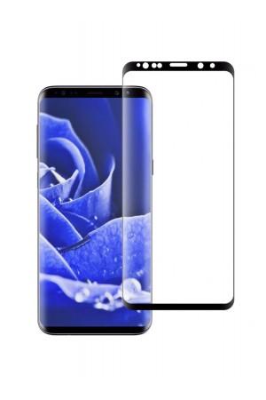 Защитное стекло 3D Ainy для Samsung Galaxy S9, черная рамка