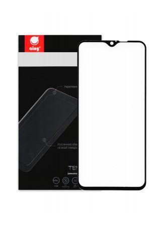 Защитное стекло Ainy для Xiaomi Redmi Note 8 Pro, черная рамка, полный клей