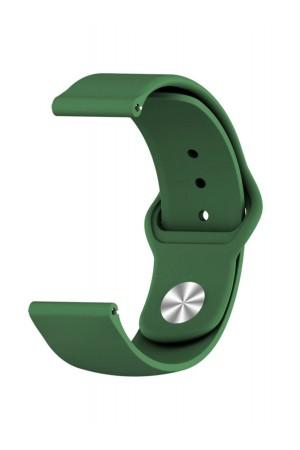 Силиконовый ремешок для Amazfit Bip, 20 мм, застежка pin-and-tuck, зеленый, ml-011