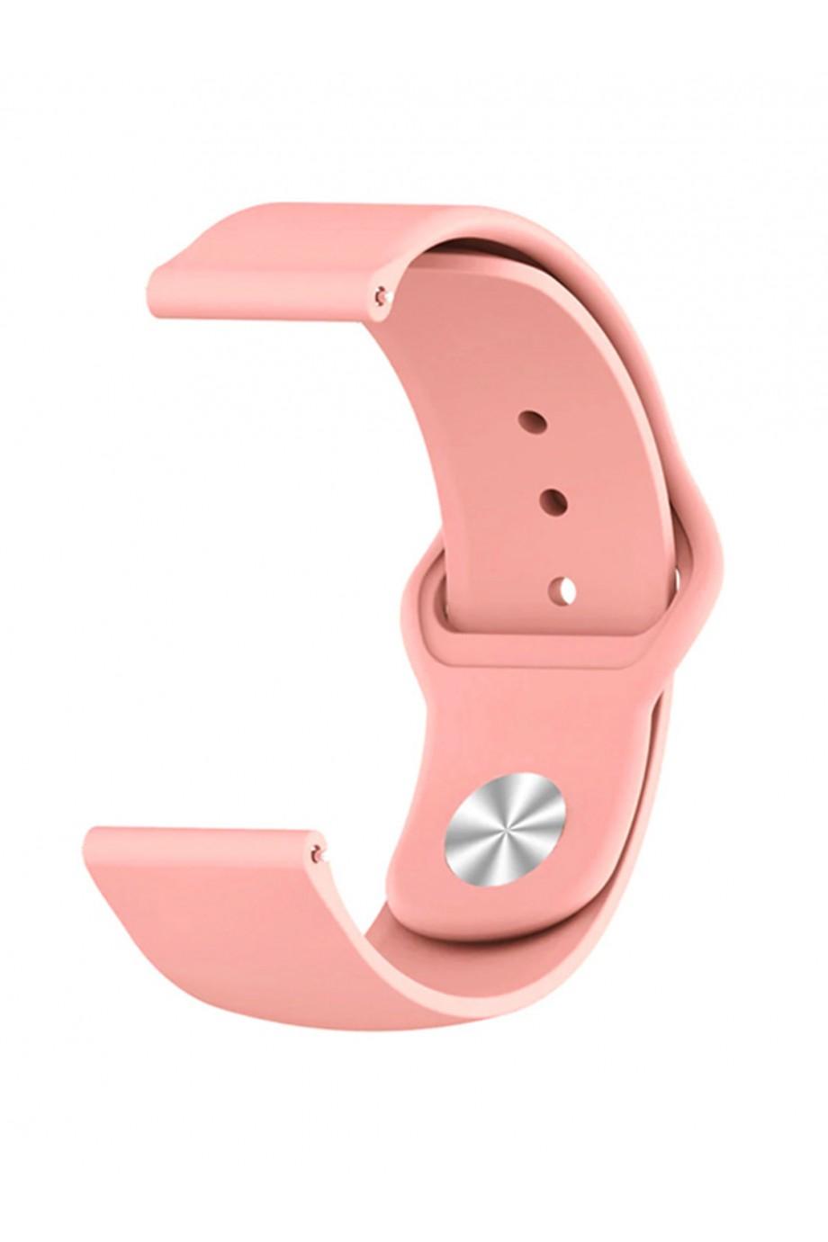 Силиконовый ремешок для Amazfit Pace, 22 мм, застежка pin-and-tuck, розовый лепесток, mz-02