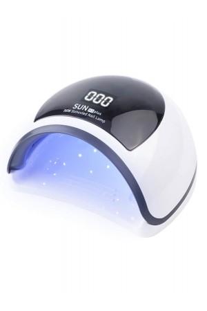 Лампа для сушки лака Sun H3 Plus, LED/UV, 96 Вт, белый, черный