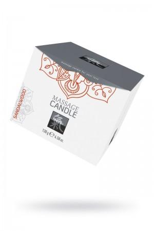 Массажная свеча HOT Shiatsu с ароматом сандала, 130 мл