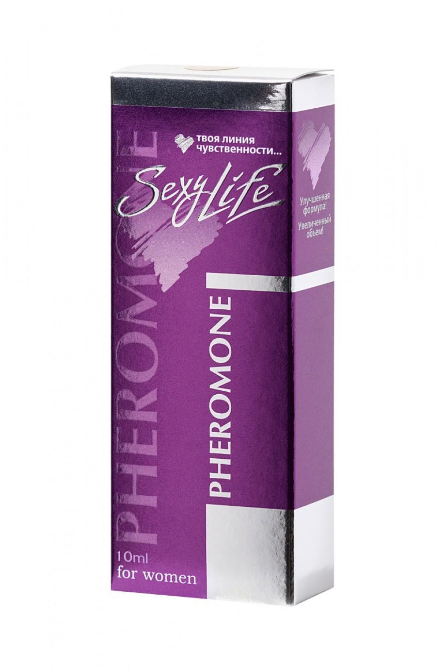 Духи с феромонами Sexy Life №24 философия аромата Escada S, женские, 10 мл