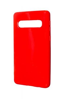 Чехол силиконовый для Samsung Galaxy S10, красный