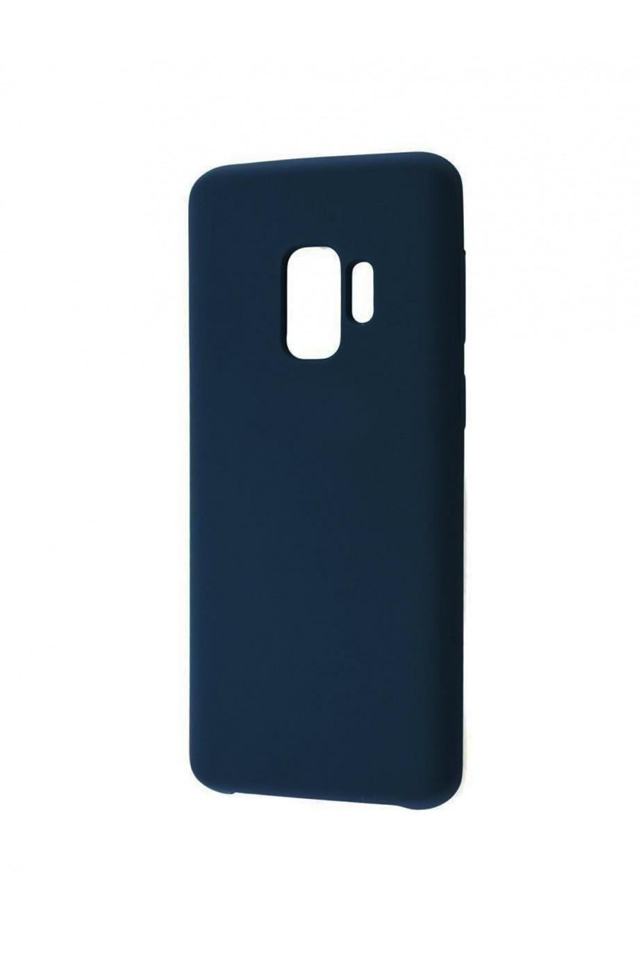 Чехол TPU для Samsung Galaxy S9, мягкая подложка, синий