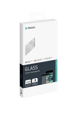 Защитное стекло 3D Deppa для Samsung Galaxy S9, черная рамка, полный клей